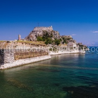 Old-Castle-Walls-and-Harbour-Kerkira-Corfu